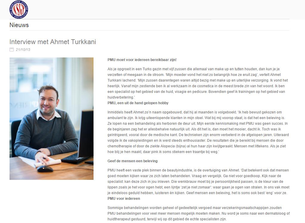 Intervieuw NSGP Ahmet Turkkani